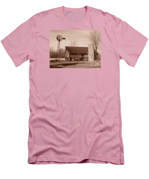 Forgotten Farm Men's T-Shirt (Slim Fit) by Judy Whitton