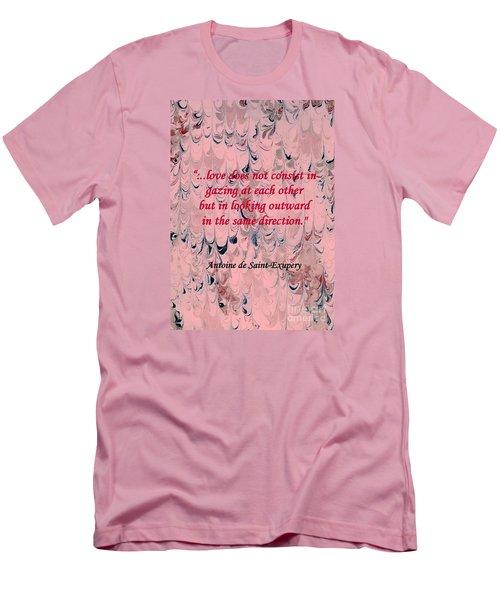 Forward Looking Love Men's T-Shirt (Athletic Fit)