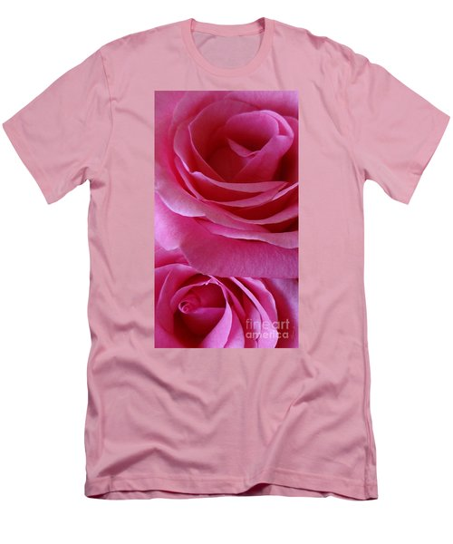 Face Of Roses 3 Men's T-Shirt (Slim Fit) by Gem S Visionary