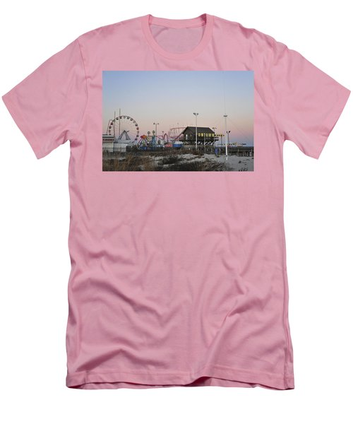 Fun At The Shore Seaside Park New Jersey Men's T-Shirt (Athletic Fit)