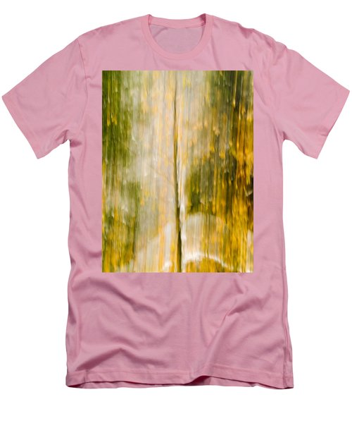 Golden Falls  Men's T-Shirt (Slim Fit) by Bill Gallagher