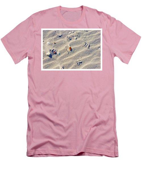 Gull Tracks Men's T-Shirt (Athletic Fit)