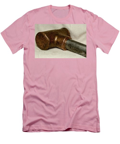 Men's T-Shirt (Slim Fit) featuring the photograph Hammer  by Wilma  Birdwell
