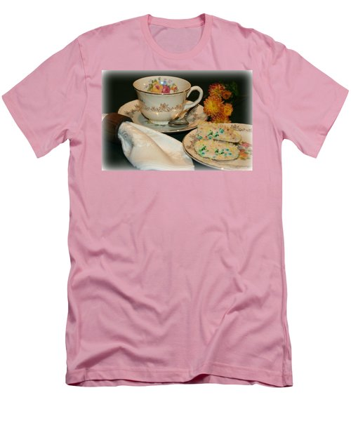 Her Best China Men's T-Shirt (Slim Fit) by Barbara S Nickerson