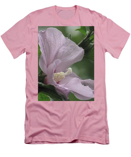 Hibiscus I Men's T-Shirt (Athletic Fit)