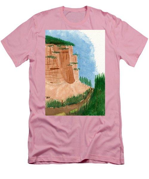 Highway Smile Men's T-Shirt (Athletic Fit)
