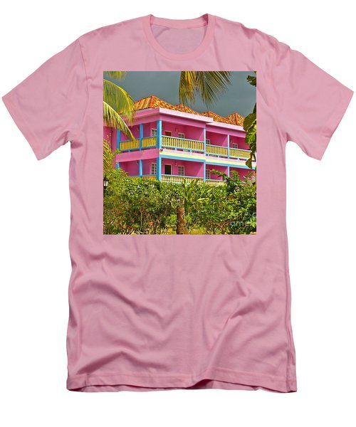 Hotel Jamaica Men's T-Shirt (Athletic Fit)