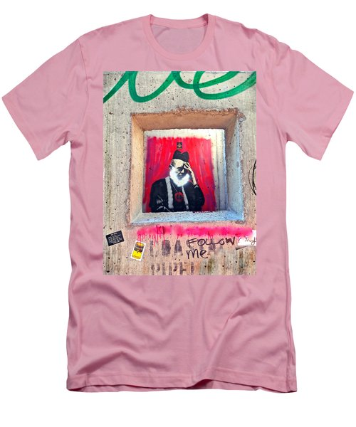 Men's T-Shirt (Slim Fit) featuring the photograph I'm Thinking by Joan Reese