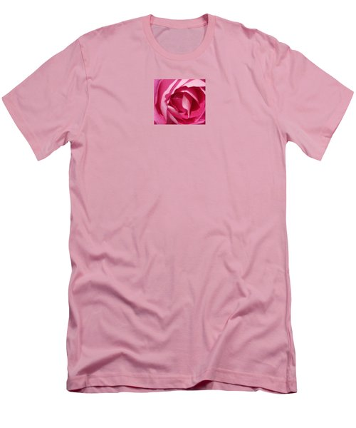 In The Pink Men's T-Shirt (Slim Fit) by Janice Westerberg