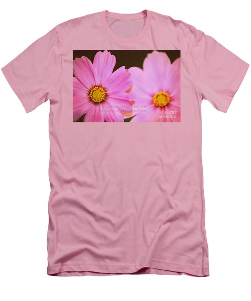 Inspirational Flower 2 Men's T-Shirt (Athletic Fit)