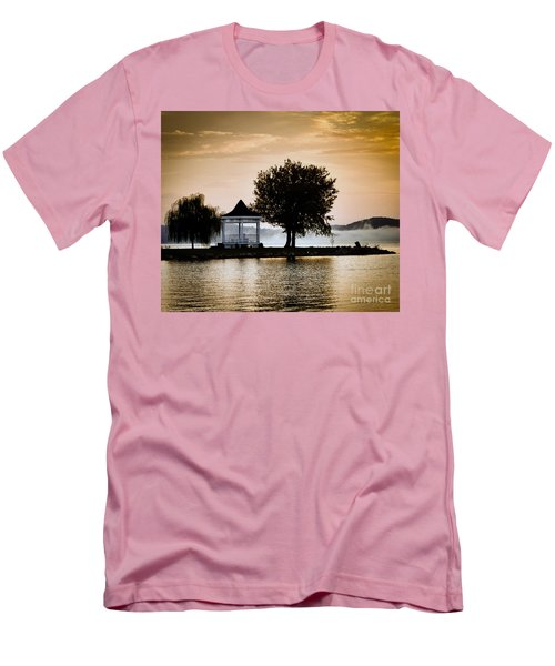 Men's T-Shirt (Slim Fit) featuring the photograph Just Before Sunrise by Kerri Farley