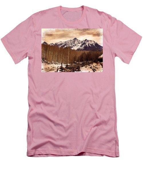 Last Dollar Road Winter Men's T-Shirt (Athletic Fit)