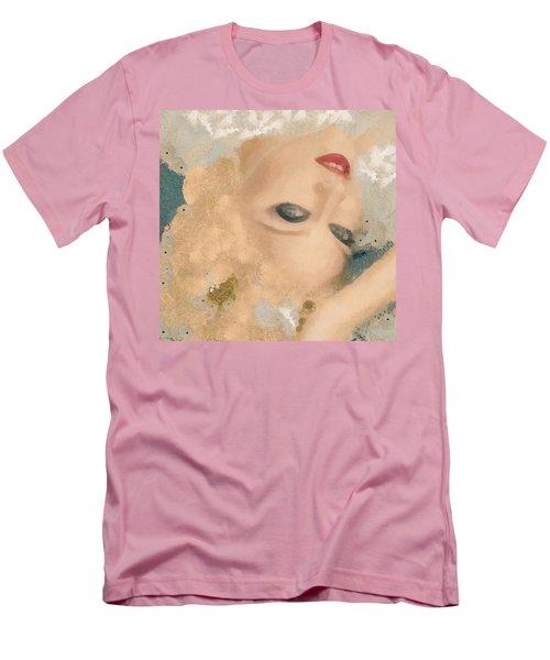 Madonna Wow Men's T-Shirt (Slim Fit) by Catherine Lott