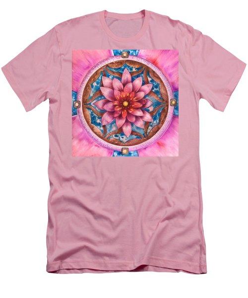 Mandala Of Health Men's T-Shirt (Athletic Fit)