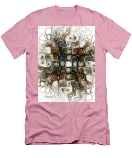 Memory Boxes-fractal Art Men's T-Shirt (Athletic Fit)
