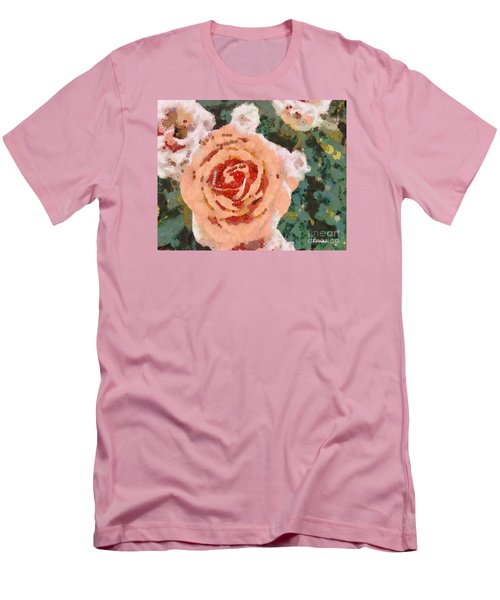 Alameda Meyers House Garden Klimt Rose Men's T-Shirt (Athletic Fit)