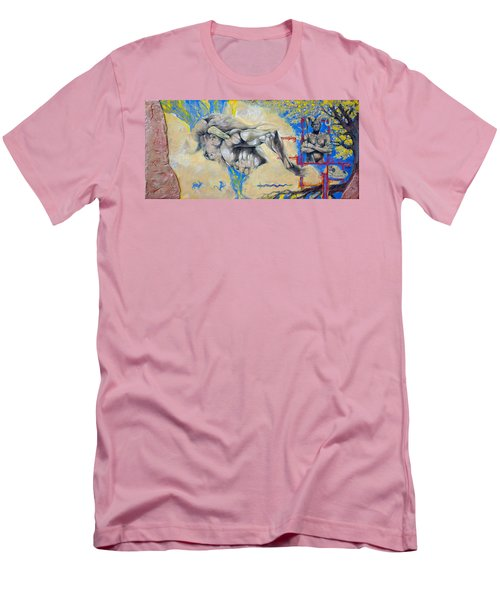 Minotaur Men's T-Shirt (Slim Fit) by Derrick Higgins