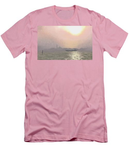 Misty Lagoona 34 X 47 Men's T-Shirt (Athletic Fit)