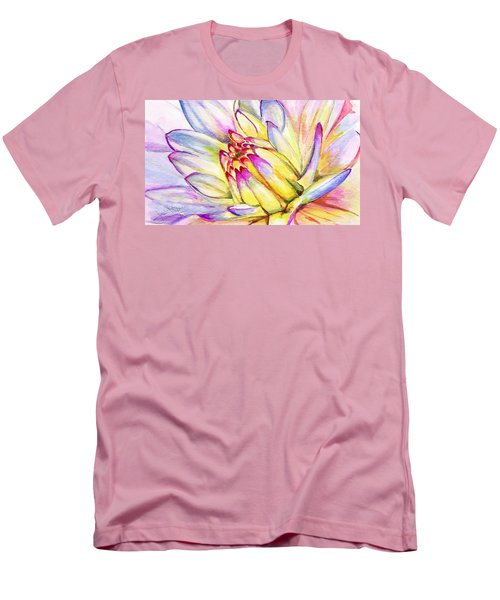 Morning Flower Men's T-Shirt (Athletic Fit)