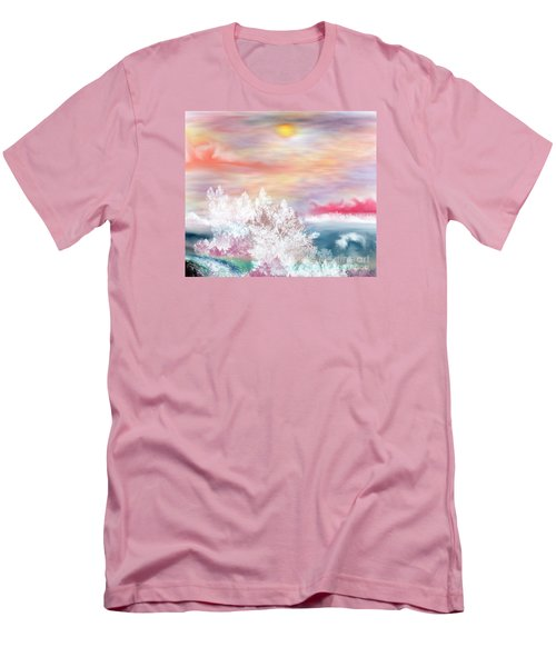 My Heaven Men's T-Shirt (Slim Fit) by Lori  Lovetere