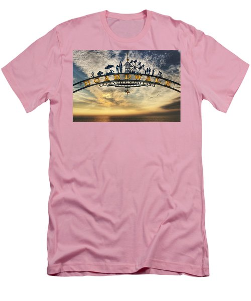 Ocean City Boardwalk Men's T-Shirt (Athletic Fit)
