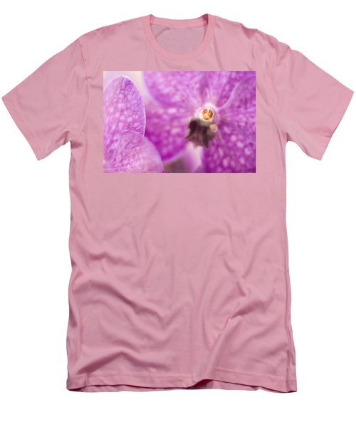 Orchid Men's T-Shirt (Slim Fit) by Bradley R Youngberg