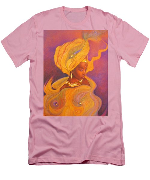 Oshun Goddess Men's T-Shirt (Athletic Fit)