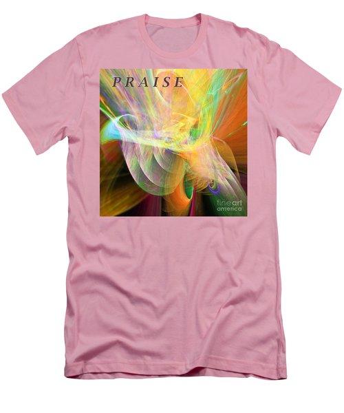 Praise Men's T-Shirt (Slim Fit) by Margie Chapman