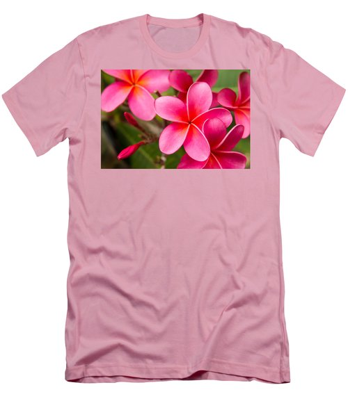 Pretty Hot In Pink Men's T-Shirt (Slim Fit) by Denise Bird