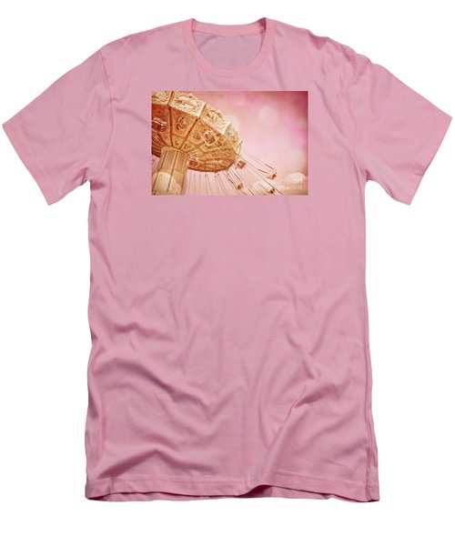 Carnival - Pretty In Pink Men's T-Shirt (Slim Fit) by Colleen Kammerer