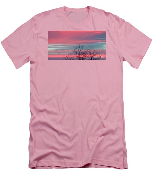 Pretty In Pink Sunrise Men's T-Shirt (Athletic Fit)