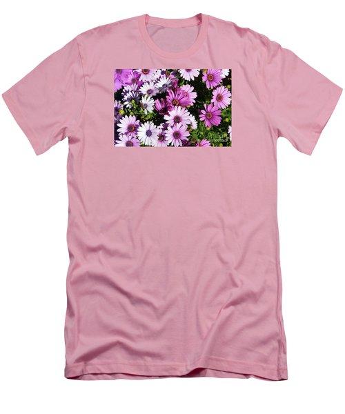 Purple Daisy Men's T-Shirt (Athletic Fit)