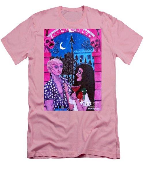 Romantic Couple Men's T-Shirt (Athletic Fit)