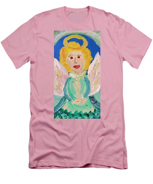 Ruth E. Angel Men's T-Shirt (Slim Fit) by Mary Carol Williams