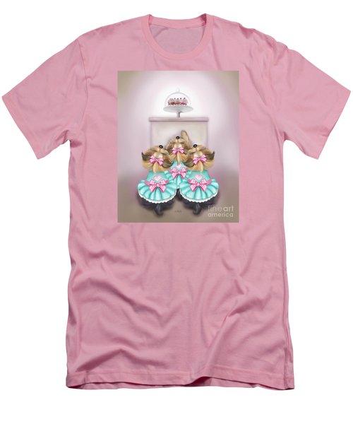 Saint Cupcakes Men's T-Shirt (Slim Fit) by Catia Cho