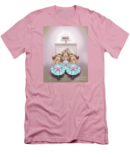 Saint Cupcakes Men's T-Shirt (Athletic Fit)