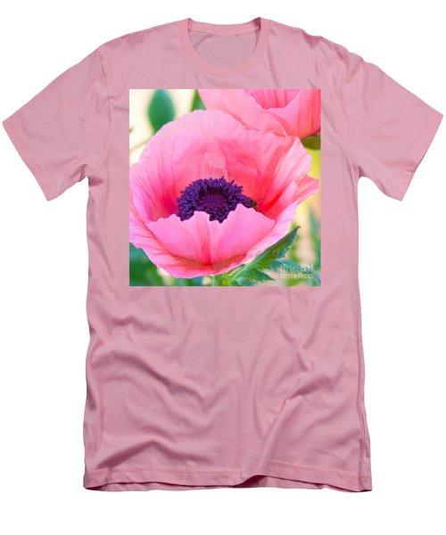 Seductive Poppy Men's T-Shirt (Athletic Fit)