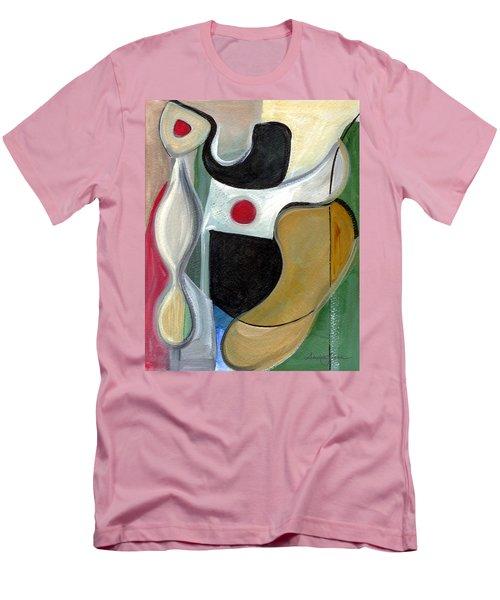 Men's T-Shirt (Slim Fit) featuring the painting Sensuous Beauty by Stephen Lucas