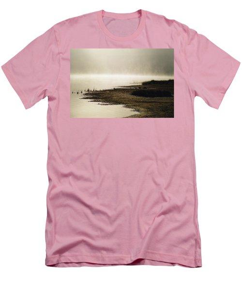 September Morning Men's T-Shirt (Slim Fit) by David Porteus
