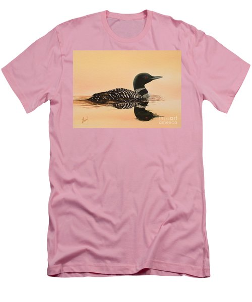 Serene Beauty Men's T-Shirt (Slim Fit) by James Williamson