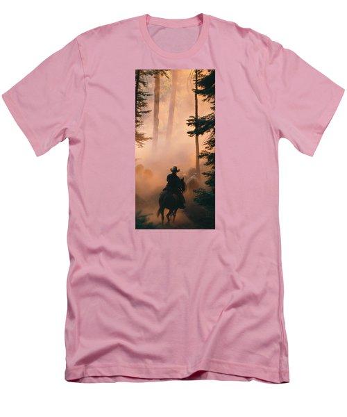 Shayna Men's T-Shirt (Slim Fit) by Diane Bohna