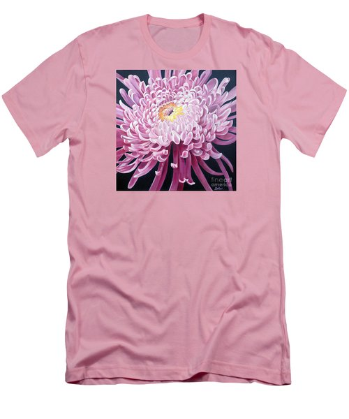 Men's T-Shirt (Slim Fit) featuring the painting Spider Mum by Debbie Hart