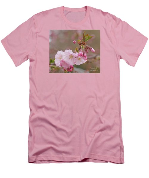 Men's T-Shirt (Slim Fit) featuring the photograph Spring Blossoms by Rudi Prott