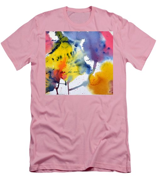 Spring Fling Men's T-Shirt (Slim Fit) by Joan Hartenstein