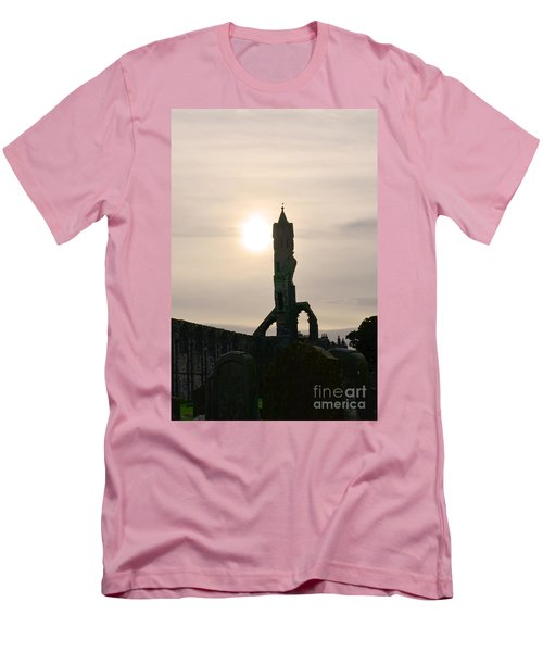 St Andrews Scotland At Dusk Men's T-Shirt (Slim Fit) by DejaVu Designs
