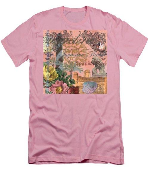 St. Augustine Florida Vintage Collage Men's T-Shirt (Athletic Fit)