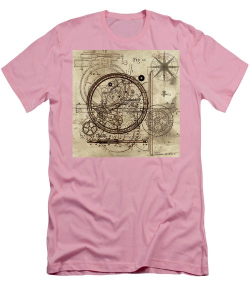 Steampunk Dream Series IIi Men's T-Shirt (Slim Fit) by James Christopher Hill