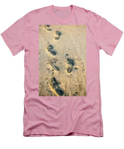 Steps Men's T-Shirt (Slim Fit) by Menachem Ganon