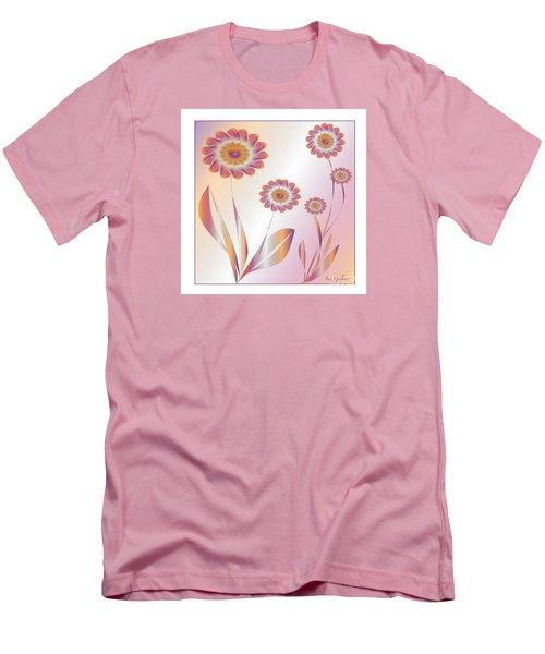 Summerwork Duvet Cover And Pillow Men's T-Shirt (Slim Fit) by Iris Gelbart