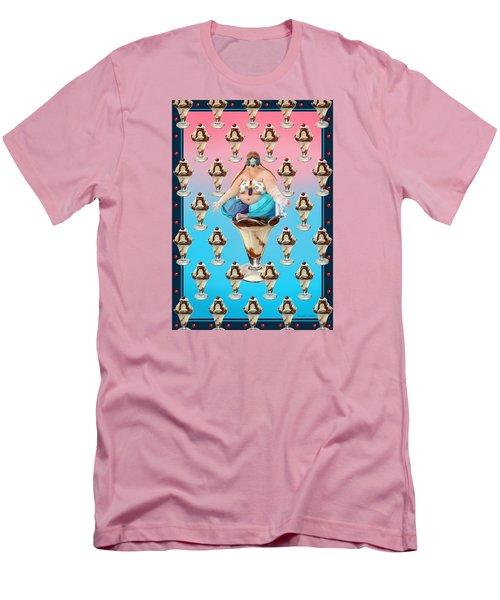 Men's T-Shirt (Slim Fit) featuring the digital art Sundae Girl by Scott Ross